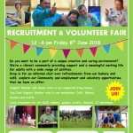 Final LOW Recruitment and volunteer fair poster _new look