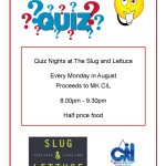 Slug and Lettuce Quiz