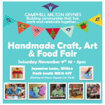 CMKC Craft and Food Fayre Nov-2019_Use Me for social media